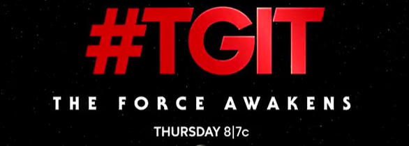 The Force Awakens on ABC this Thursday