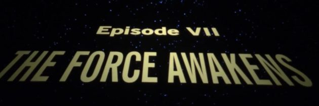 Fans Reaction to The Force Awakens Finally Starting